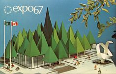 "design-is-fine: ""Postcards from Expo 67 in Montreal, 1967. More to see here """