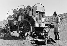 "The Chuck Wagon of the old west was a home, the dinner table, ""the water cooler"" and a traveling store. 