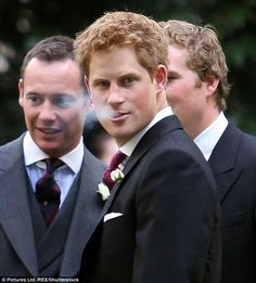 It is said that the 32-year-old prince can easily get through a packet of Marlborough Lights a day