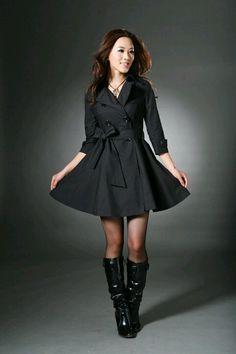 I love coat dresses or whatever you call it..I love