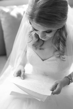bride, getting ready, reading grooms letter, camp lucy, sacred oaks, wedding, austin texas wedding photographer
