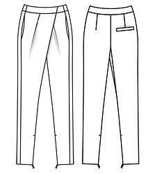 Dessin patron 2 (Pattern Drawing 2)