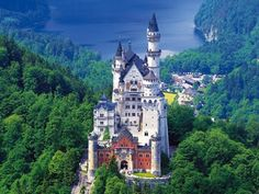 Castle in Europe feel the history