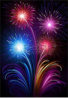 feu d artifice: Feux d'artifice Illustration