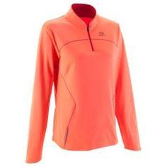 T-shirt Running, Trail, Athlétisme - MAILLOT EKIDEN WARM ORANGE KALENJI - Vêtements running