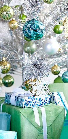 ornament and presents