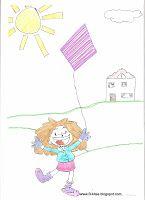 B-kites: Kite drawings