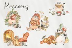 Illustration Art, Illustrations, Rooster, Cute, Animals, Animales, Animaux, Illustration, Kawaii