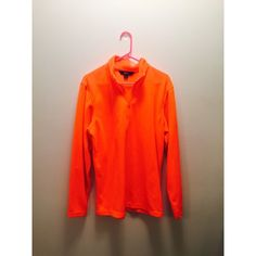 Neon Orange Fleece Quarter Zip Bright orange! Perfect for hunters. :) Only worn once for a neon themed event. Jackets & Coats