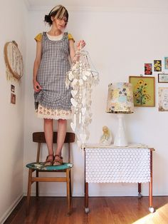 Dottie Angel is always on top of things.  I adore her simple beautiful ideas.