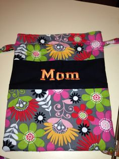 A draw string bag for me! String Bag, Cute Bags, Sewing Projects, Draw, Purses, Mom, My Love, Crafts, Handbags