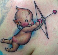 Kewpie Tattoo by Brian McCormic