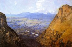The Athenaeum - The Barron Gorge and Sugar Plains (Sir Arthur Streeton - )