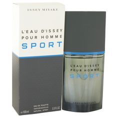 New #Fragrance #Perfume #Scent on #Sale  L'eau D'Issey Pour Homme Sport by Issey Miyake 3.4 oz EDT Spray - Introduced in 2012 by the design house of Issey Miyake, L'Eau d'Issey pour Homme Sport is a vibrant scent designed for active men. The citrus introduction offers a refreshing blast as soon as you apply it, and the woody, earthy finish comes out as you go about your day. Opening with a tangy blend of grapefruit and bergamot, the cologne blooms to a spicy nutmeg heart before drying down…