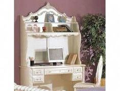 Shop Acme Furniture Pearl White Computer Hutch with great price, The Classy Home Furniture has the best selection of Others to choose from Luxury Bedroom Furniture, Discount Bedroom Furniture, Discount Furniture Stores, Cottage Furniture, Acme Furniture, Furniture Movers, Furniture Dolly, Furniture Market, Dream Furniture