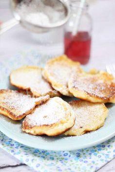 Placki z serem Pancakes, Cooking, Breakfast, Recipes, Food, Essen, Kitchen, Morning Coffee, Pancake