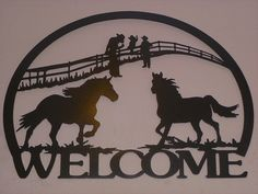 rustic horse sign by harveymrh on Etsy, $90.00