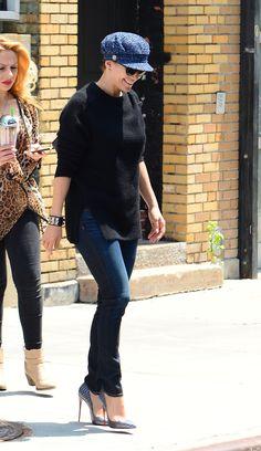 J.Lo is seen walking in New York on July 2, 2014.   - Cosmopolitan.com