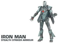 iron man Movie Concept Series 15cm Action Figures - Iron Man Stealth Striker Armour Iron Man Stealth Striker Armour action figure features pop out wings! Iron Man Movie figures are great to encourage roleplay! http://www.comparestoreprices.co.uk/action-figures/iron-man-movie-concept-series-15cm-action-figures--iron-man-stealth-striker-armour.asp