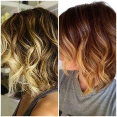 kısa saç ombre renklendirme ekseriyetle açık renkli uçları içine yavaş ve kademeli uyum karanlık kökleri olduğunu. Çok sayıda tonları ile bu görünüm