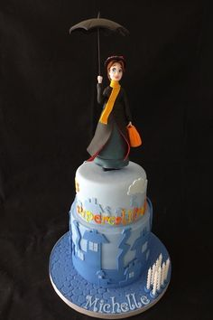 Mary Poppins Cake made by Cloud 9 Cakes