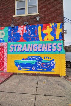 Over the past few years, Detroit has put together a nice collection of street art in its Eastern Market just east of downtown. Best Graffiti, Graffiti Wall Art, Murals Street Art, Street Art Graffiti, Mural Art, Amazing Street Art, Amazing Art, Illustrations, Illustration Art