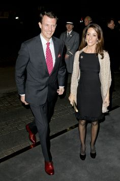 Prince Joachim and Marie attends the return  dinner at the Turkish Embassy hosted by the visiting President and First Lady of Turkey 3/18/2014