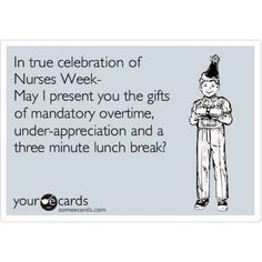 Happy Nurses Week to all my nurse friends! :)