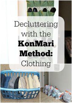 Decluttering with the KonMari Method: Week 4 Progress