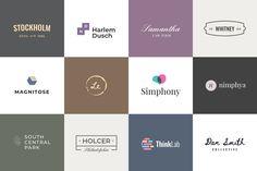 Minimalist Logo Templates by artimasa_studio on Envato Elements Modelo Logo, Logan, Design Sites, Envato Elements, Corporate Identity Design, Logo Vintage, Photoshop, Video Editing, Logo Templates