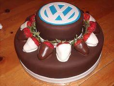Birthday cake for VW fans