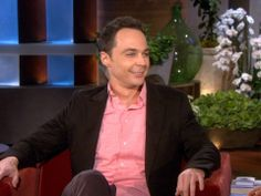Jim Parsons and Ellen Discuss 'The Normal Heart'