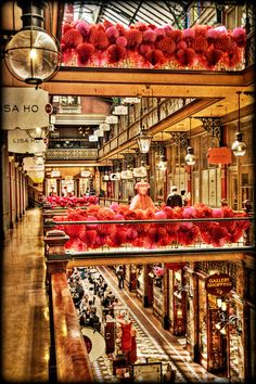 THE STRAND  shopping arcade in Sydney CBD.  Love shopping here.  Work lunch is never long enough!