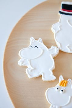 Moomin cookies (via ZAKKA sweet design on pinterest)