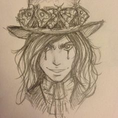 So I doodled Morpheus... and restrained myself from making it inappropriate >_> @aghowardwrites