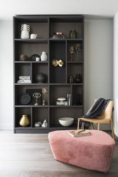 Open shelving by MannMade London