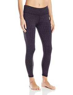 6672224496131 Cuddl Duds Womens Flex Fit Legging Black Novel Medium     Check out the  image by visiting the link.