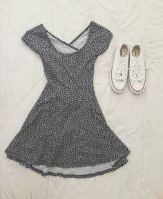 Simple dress & converse