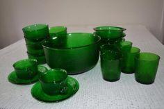 Green glass ( arcoroc sierra)