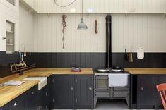 Quiero una cocina inglesa con estufa como esta! Plain-English-British-Standard-Kitchen