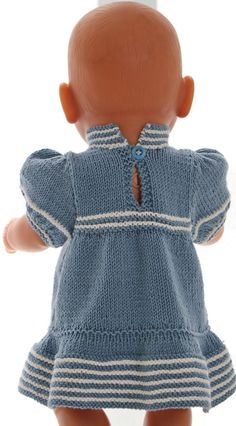Knitting pattern for doll clothes - beautiful summer clothes for your girl doll ., Knitting pattern for doll clothes - beautiful summer clothes for your girl doll and your boy doll. Knitting Dolls Clothes, Baby Doll Clothes, Knitted Dolls, Doll Clothes Patterns, Clothing Patterns, Girl Dolls, Baby Dolls, Baby Born Kleidung, Knitting For Charity