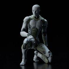 Heavy Industries Synthetic Human He Body Action Figure Figurine Scale IB Cyberpunk Character, Cyberpunk Art, Anime Figures, Action Figures, Takarai Rihito, Character Art, Character Design, Body Action, Body Figure