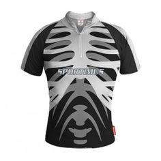 SKELETON Koszulka Rowerowa Z Własnym Nadrukiem