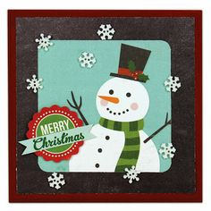 Crafts Direct Project Ideas: Merry Christmas 5x5 Tile.
