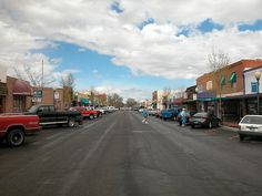 Downtown Powell, WY. The town where my husband and I met.