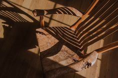 South Yuba Rocking Chair in burled maple