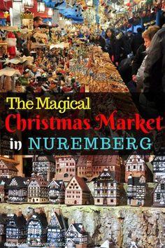 Christmas Market in Nuremberg Germany