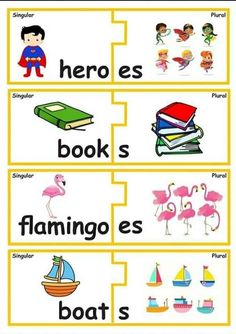 Activities For 5 Year Olds, English Activities For Kids, English Worksheets For Kindergarten, Kindergarten Fun, English Grammar Games, Learn English Grammar, English Lessons, English Teaching Materials, Teaching English