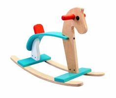 Amazon.com: Plan Toy Arabian Rocking Horse: Toys & Games