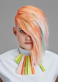 Hair: Hamish Glianos #hamishglianos #peoplehairdressing #colorhair #haircolor #coloring #колорирование #окрашивание #цветныеволосы #прически  Salon: People Hairdressing Sydney Photographer: Ethan Mann http://vk.com/ah_styles